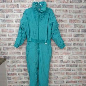 Vtg Subello Sz 12 Ski suit Snowsuit 80s